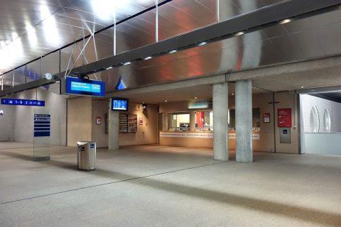 ザルツブルクバスターミナルチケット窓口
