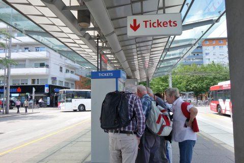 salzburg-bus/チケット券売機
