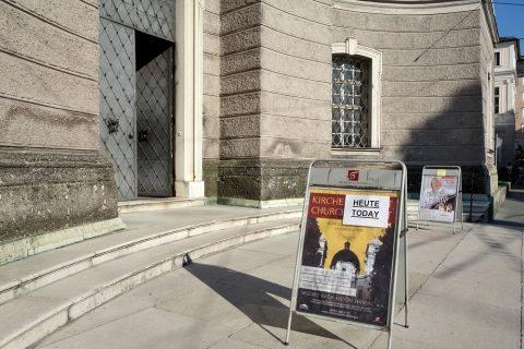 聖トリニティ教会コンサート会場入口