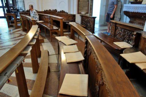 聖トリニティ教会のシート