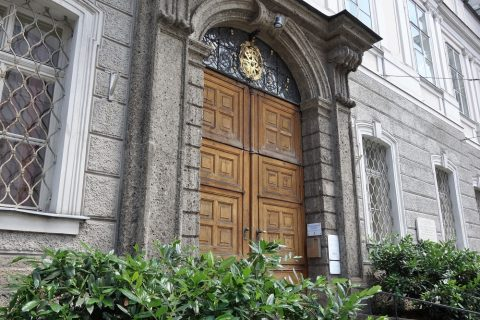 聖トリニティ教会の扉