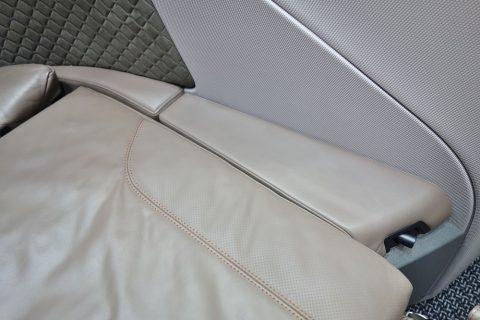 シンガポール航空ビジネスクラス/肘掛
