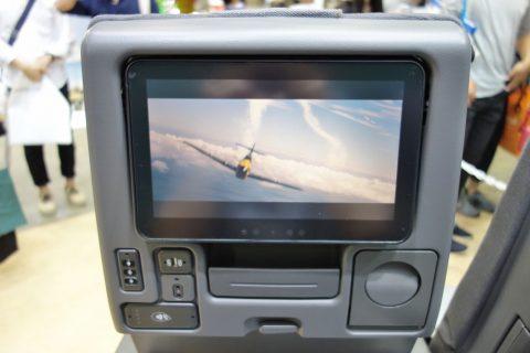シンガポール航空エコノミークラス/モニター