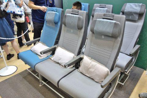 シンガポール航空エコノミークラス/詰め込み式