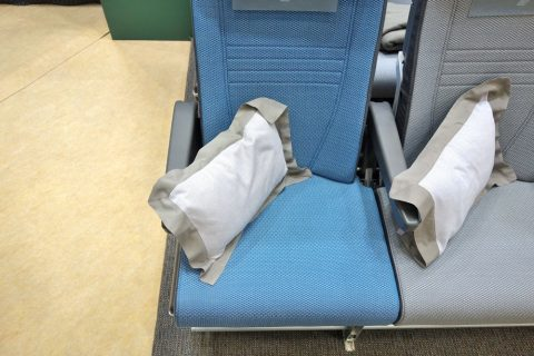 シンガポール航空エコノミークラス/座席幅