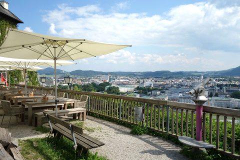 stadtalm-cafe-salzburg/眺め
