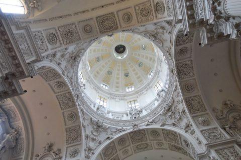 テアティナー教会のドーム屋根