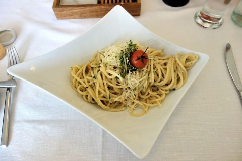 zum-salzbaron-hallstatt/ペペロンチーノのスパゲッティ