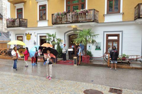 zum-salzbaron-hallstatt/ホテル入口