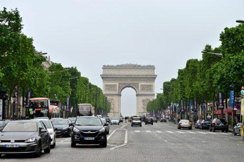 Arc-de-triomphe/パリの凱旋門