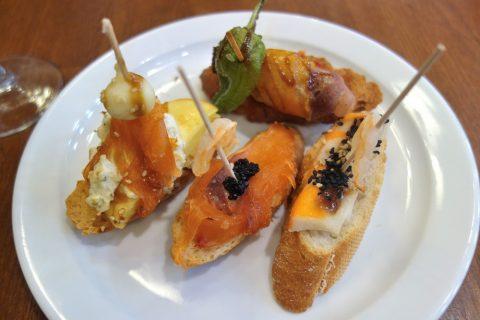 CERVECERIA-BAVIERA/ピンチョスの味