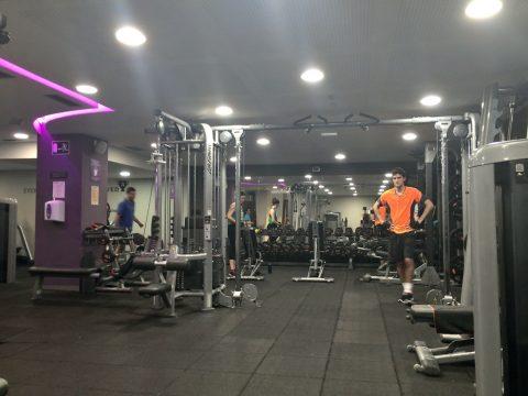 anytime-fitness-barcelona/フリーウェイトエリア