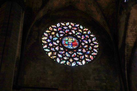 basilica-santa-maria-del-mar-barcelona/ステンドグラス/ゴシック