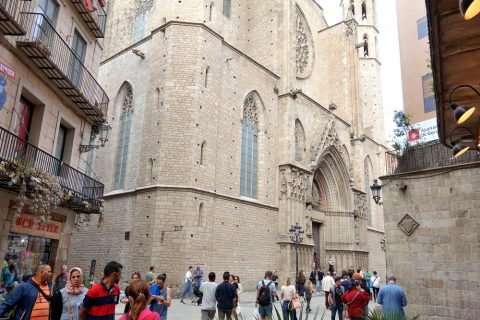 basilica-santa-maria-del-mar-barcelona/アクセス