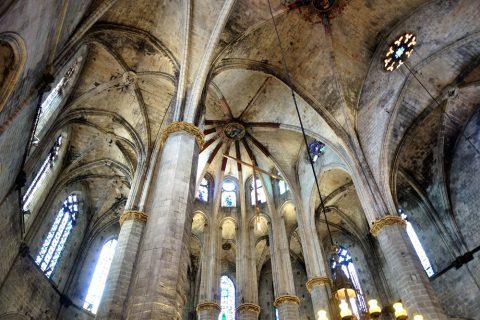 basilica-santa-maria-del-mar-barcelona/こげ跡