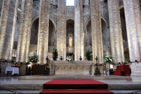 basilica-santa-maria-del-mar-barcelona/主祭壇