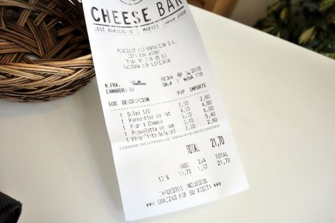 cheese-bar-madrid/レシート
