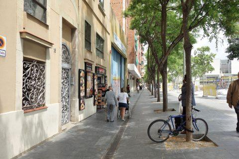 バルセロナのチャイナタウン?