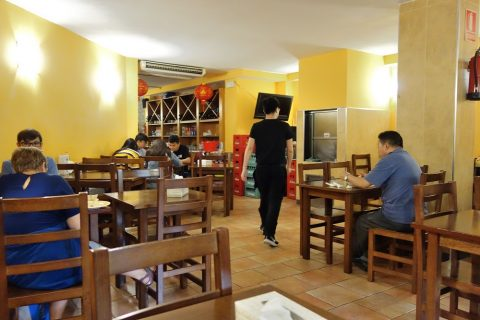 chen-ji-barcelona/テーブル席