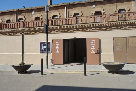 colonia-guell-barcelona/公衆トイレ