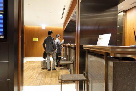福岡空港JGCカウンター
