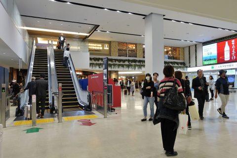 福岡空港ターミナル2階と3階