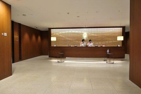 福岡空港ラウンジレセプション
