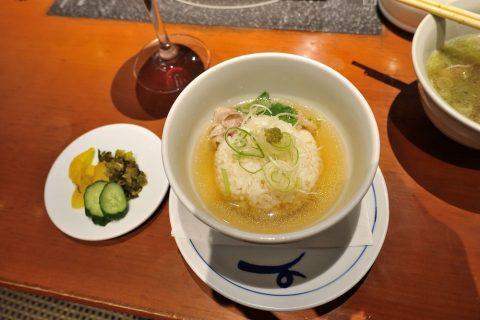ichiniisan-kagoshima/コースの雑炊