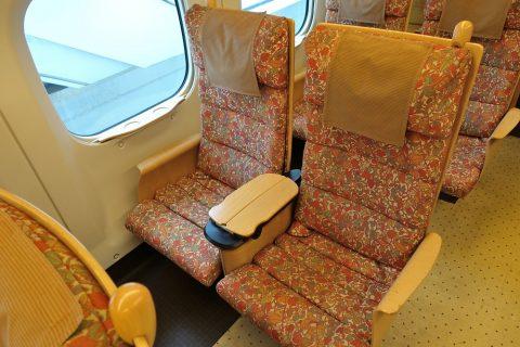 九州新幹線シートデザイン