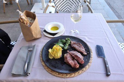 la-mi-venta-madrid/イベリコ豚のステーキ