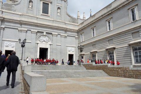 アルムデナ大聖堂の入口