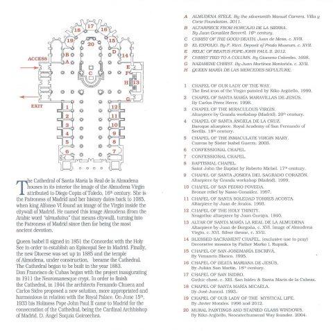 アルムデナ大聖堂のMAP