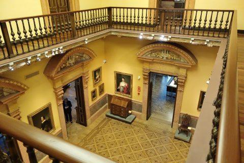 museo-lazaro-galdiano/吹き抜けのホール