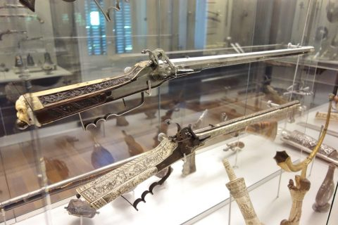 museo-lazaro-galdiano/銃
