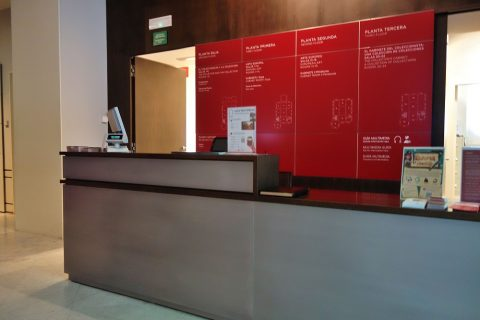 museo-lazaro-galdiano/チケットブース
