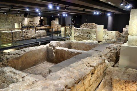 museu-d-historia-de-la-ciutat-barcelona/地下の遺跡
