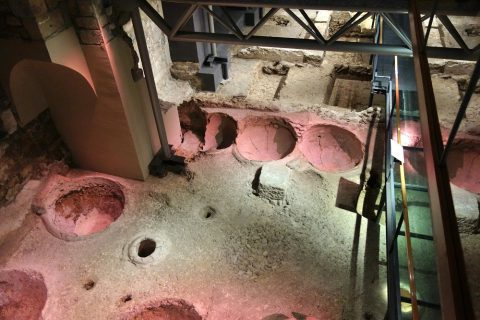 museu-d-historia-de-la-ciutat-barcelona/ワインの製造所