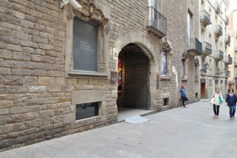 museu-d-historia-de-la-ciutat-barcelona/入口