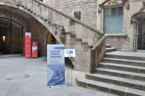 museu-d-historia-de-la-ciutat-barcelona/エントランス