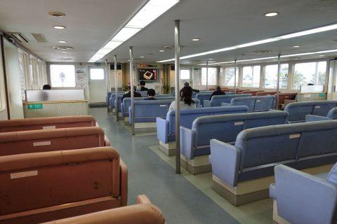 sakurajima-ferry/客席