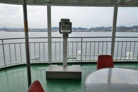 sakurajima-ferry/双眼鏡