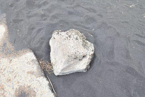 桜島の火山灰