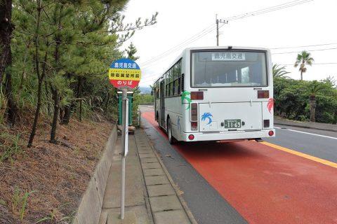 溶岩展望所前バス停