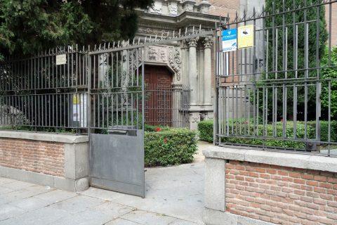 サンアンドレス教会の入口