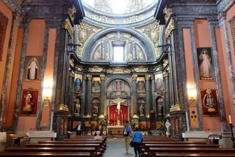 サンアンドレス教会の祭壇