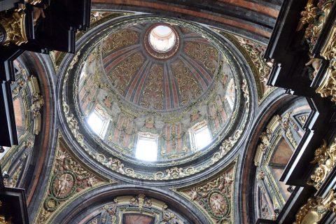 サンアンドレス教会のドーム屋根