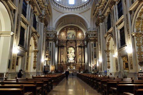 サンイシドロ教会の内部