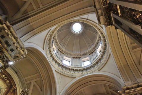 サンイシドロ教会のドーム屋根