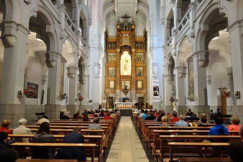 サンホセ教会の内部