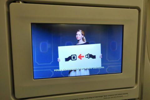エールフランスの機内安全ビデオ